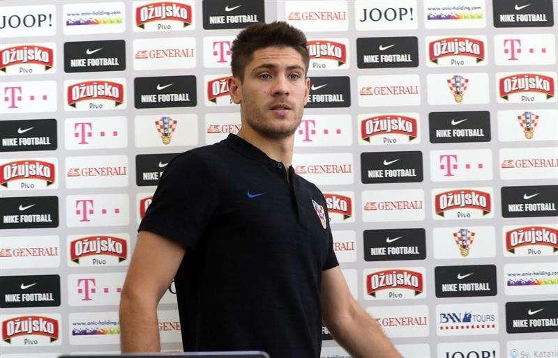 El jugador croata Andrej Kramaric. Foto EFE