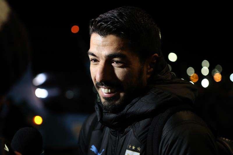 uis Suárez valora de forma positiva la participación de Uruguay en el Mundial de Rusia. Foto EFE
