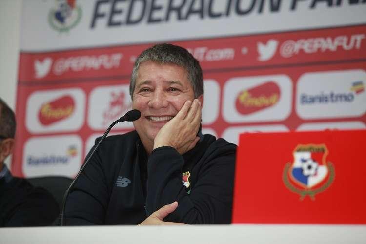 El técnico agradeció todos los gestos de amistad en Panamá. Foto: Anayansi Gamez