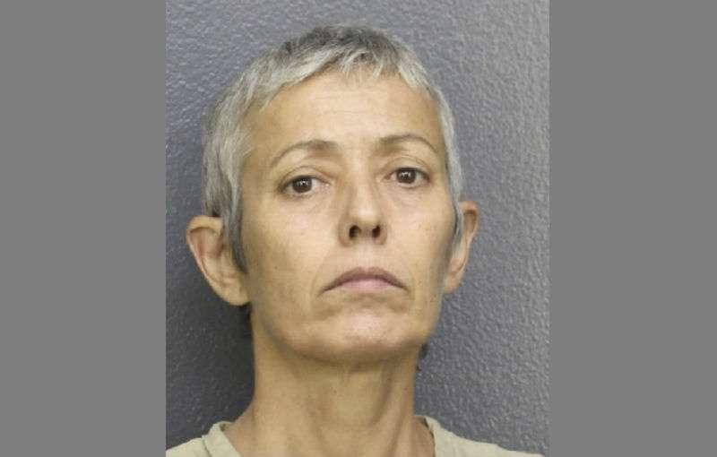 En la imagen la agresora Gabriela Perero, de 53 años. Foto: AP