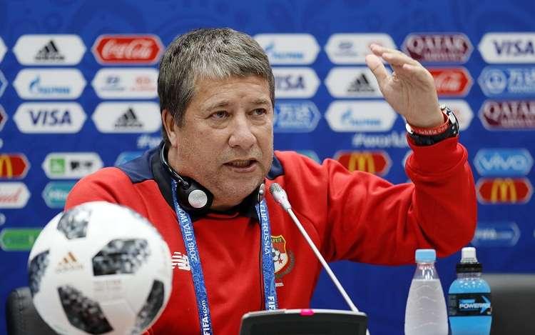 Gómez inició su caminar con la selección de fútbol en Panamá, en 2014. Foto: EFE