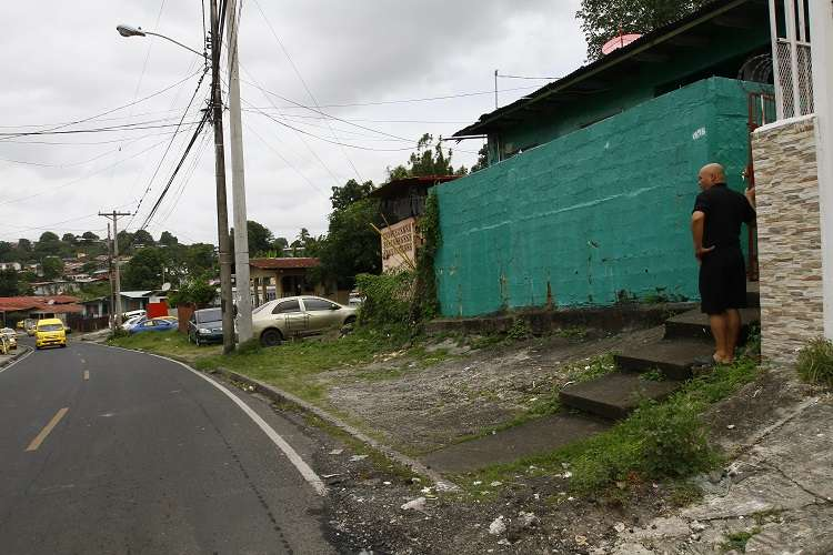 Casa de la familia atemorizada. Foto/ Edwards Santos