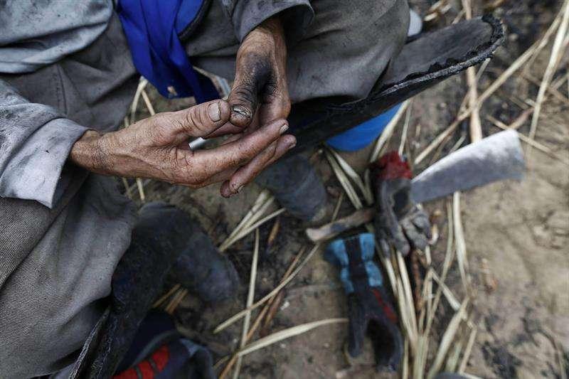 Este Índice Global de Esclavitud 2018 estima que unas 174.000 personas sufren esa situación en territorio venezolano, una tasa de 5,6 por cada 1.000 habitantes. EFE/Archivo
