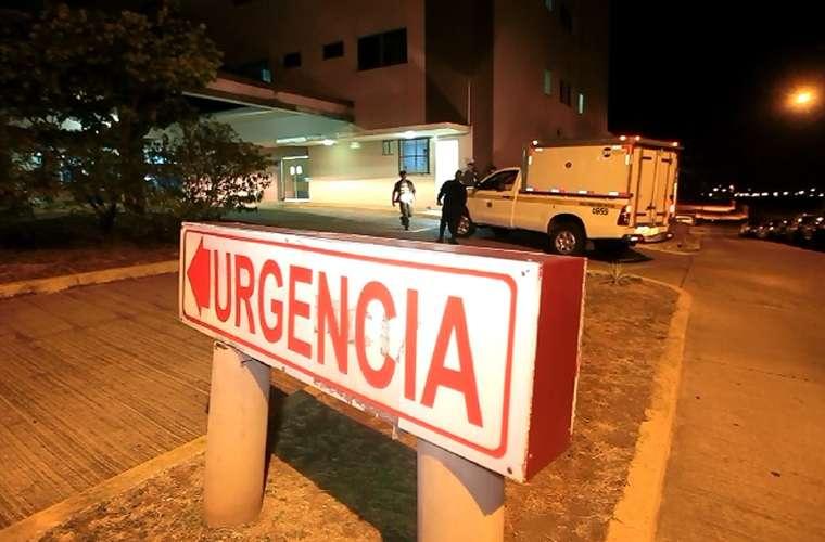 Vista general de la parte externa del cuarto de urgencia del hospital de Tocumen. Foto: Archivo