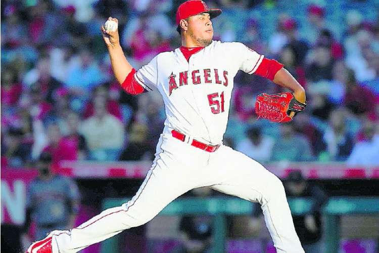 Jaime Barría buscará hoy tener una buena labor con los Angelinos de Los Ángeles. Foto: AP