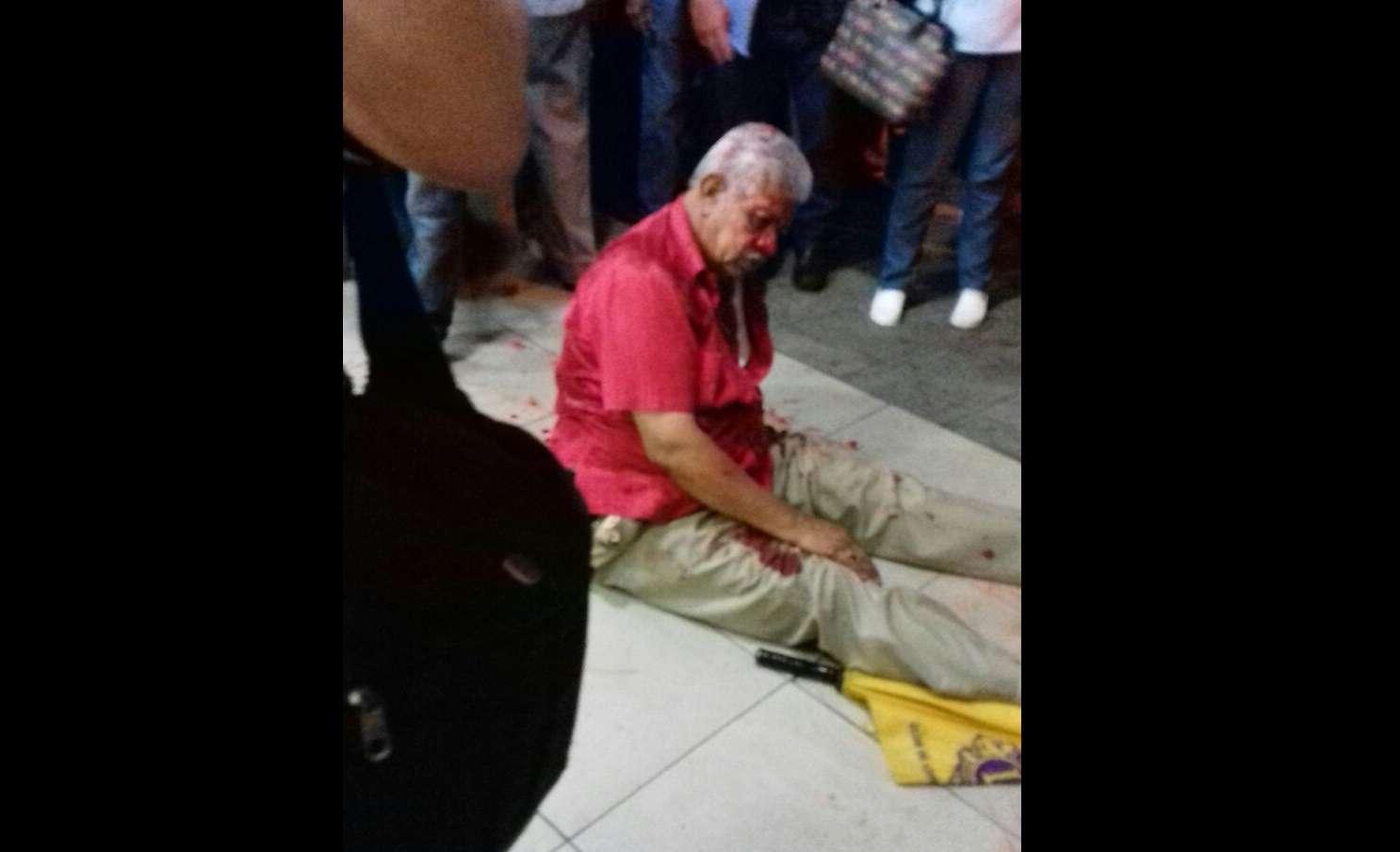 Vista general de la condición en la que quedó el chancero tras el ataque armado en octubre de 2017.  Foto: Mayra Madrid