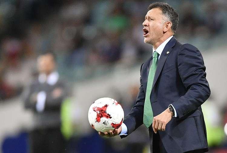 Juan Carlos Osorio fue el seleccionador mexicano con el mejor porcentaje de efectividad en los últimos 28 años. Foto: EFE