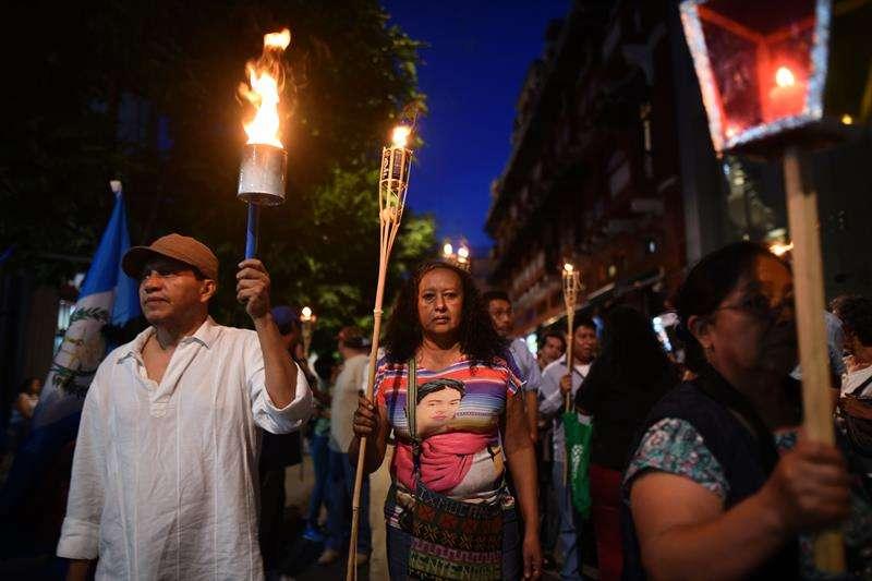 Protestas en Honduras. Foto/EFE