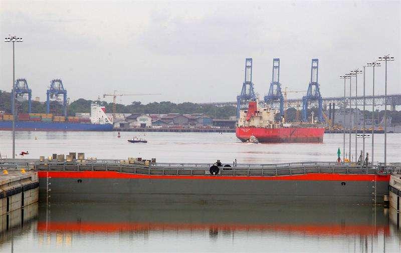 """Panamax es un escenario simulado de un """"espacio marítimo importante, como es el canal de Panamá, que es crucial para el comercio internacional"""", según señaló a Efe José Ruiz, vocero del Comando Sur. EFE/Archivo"""