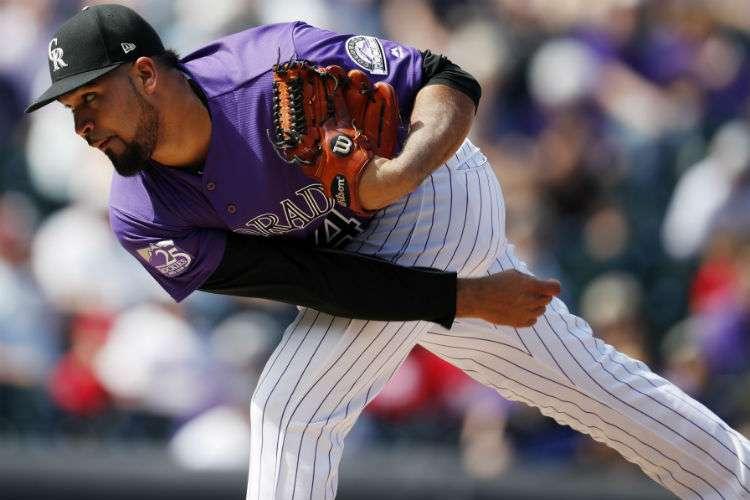 Antonio Senzatela será el abridor de los Rockies de Colorado para el primer juego de la serie ante los Cerveceros de Milwaukee.