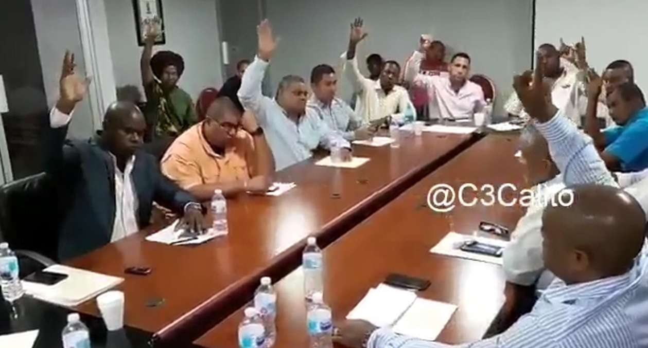 Concejales de Colón. Foto/ Captura de vídeo de @C3calito