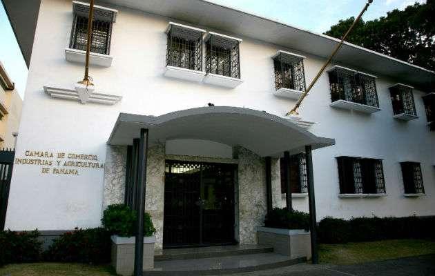 Vista general de la sede de la Cámara de Comercio, Industria de Agricultura de Panamá (CCIAP).