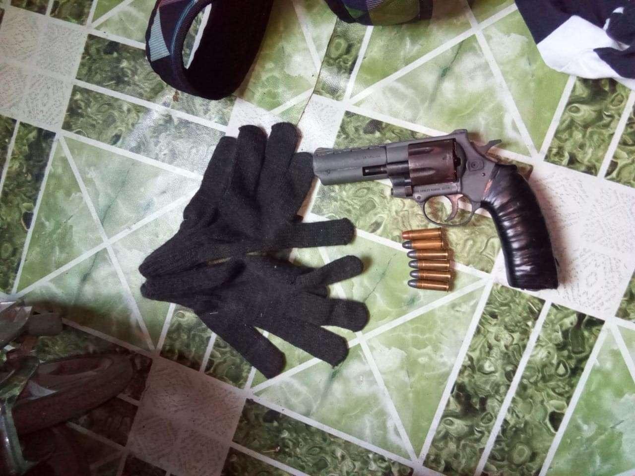 Vista general del arma recuperada por la policía. Foto: Diómedes Sánchez
