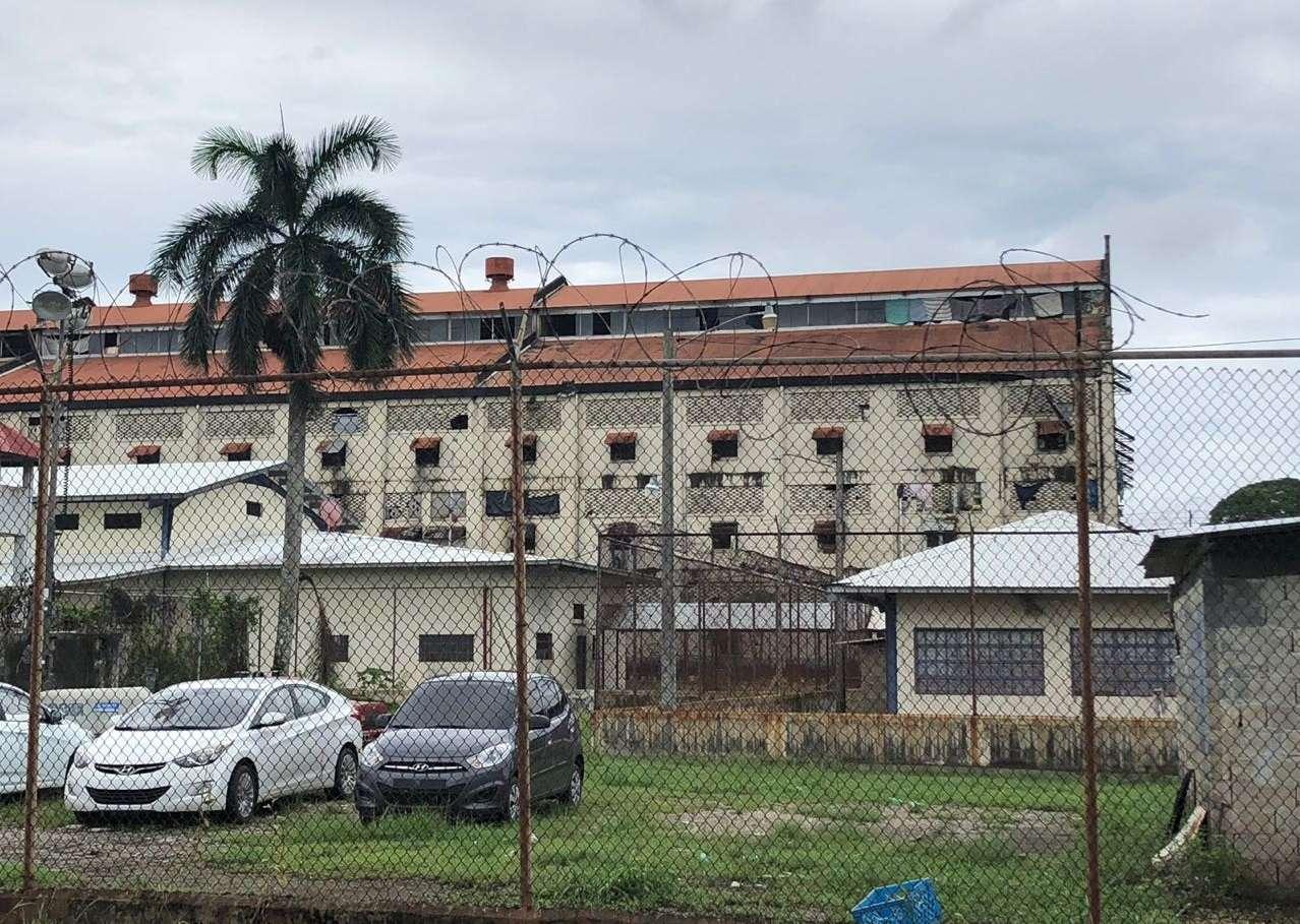 Vista externa del Centro Penitenciario de Nueva Esperanza. Foto: Archivo