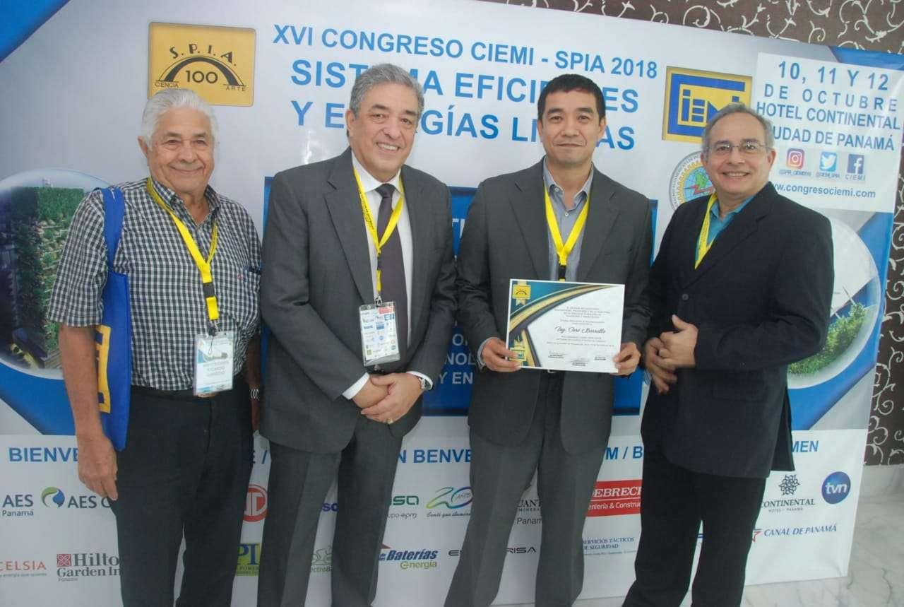 Este evento internacional se desarrolló la semana pasada bajo la organización del Colegio de Ingenieros Electricistas y mecánicos de la Industria de la SPIA, donde se presentaron más de 80 ponencias.
