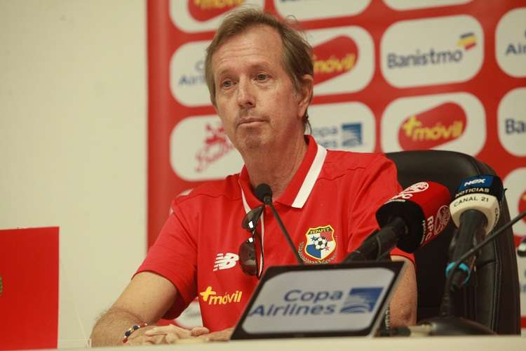 Gary Stempel, director interino de la selección de Panamá. Foto: Anayansi Gamez