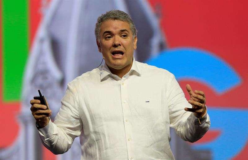 ván Duque, presidente de Colombia. EFEArchivo