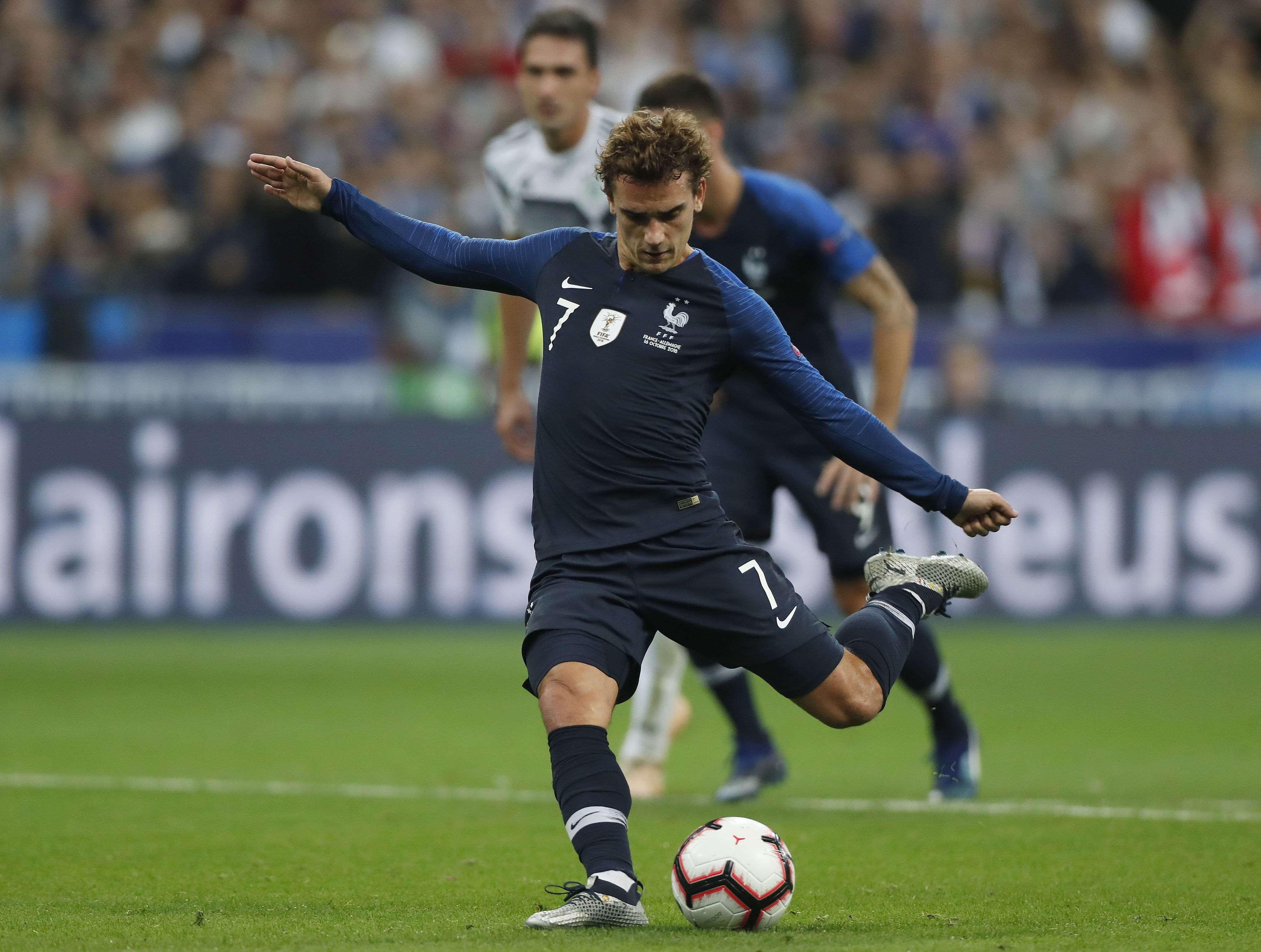 Antoine Griezmann, figura de Francia./Ap