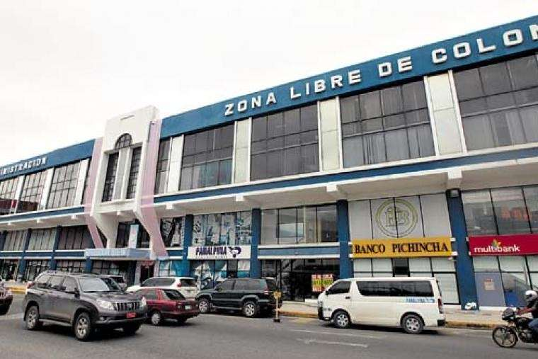 Vista general de las instalaciones de la Zona Libre de Colón. Foto: Archivo