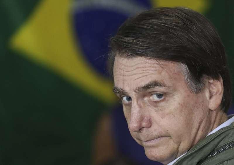 Jair Bolsonaro ganó la presidencia de Brasil el domingo. Foto: AP