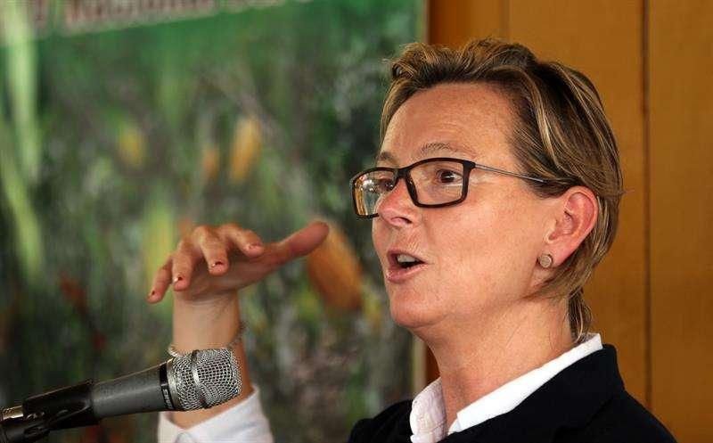 n la imagen, la embajadora de la Unión Europea en Colombia, Patricia Llombart. EFEArchivo