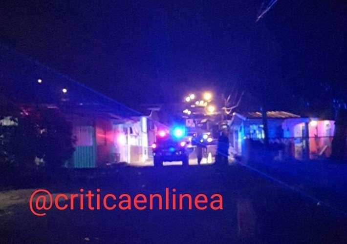 Vista general de la escena del crimen. Foto: Critica