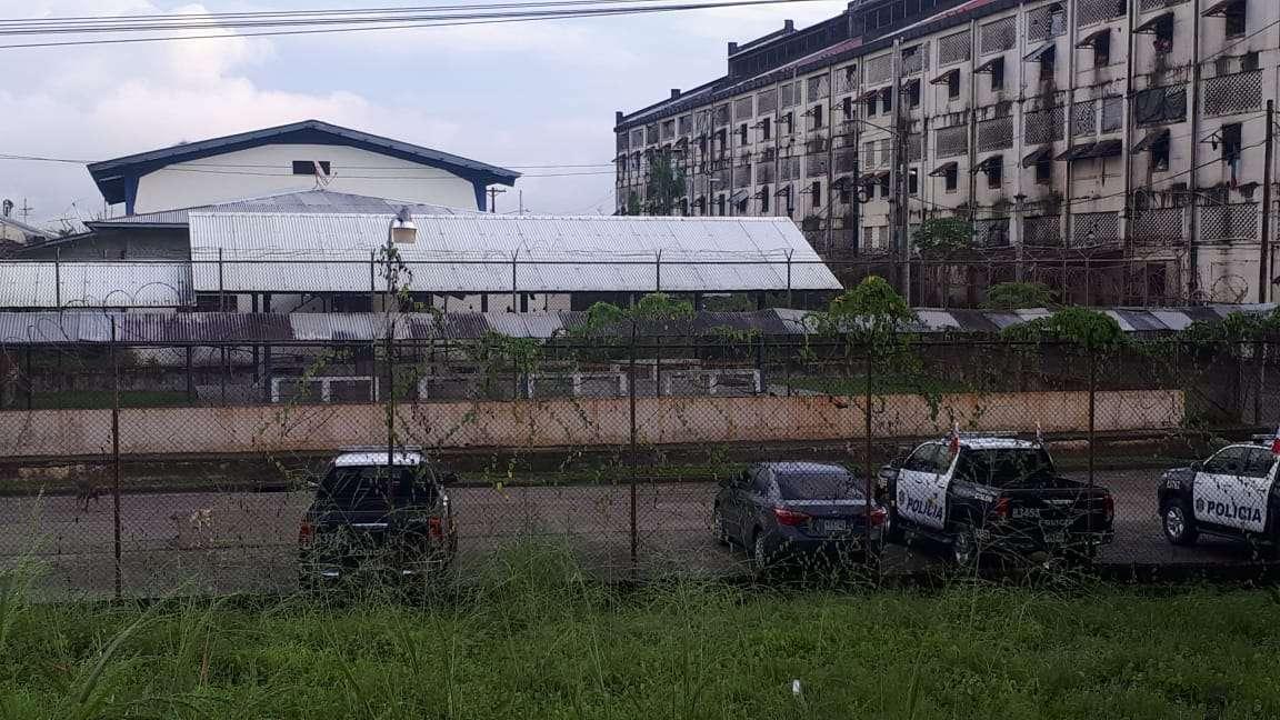 Vista externa de la cárcel Nueva Esperanza en la provincia de Colón. Foto: Diómedes Sánchez