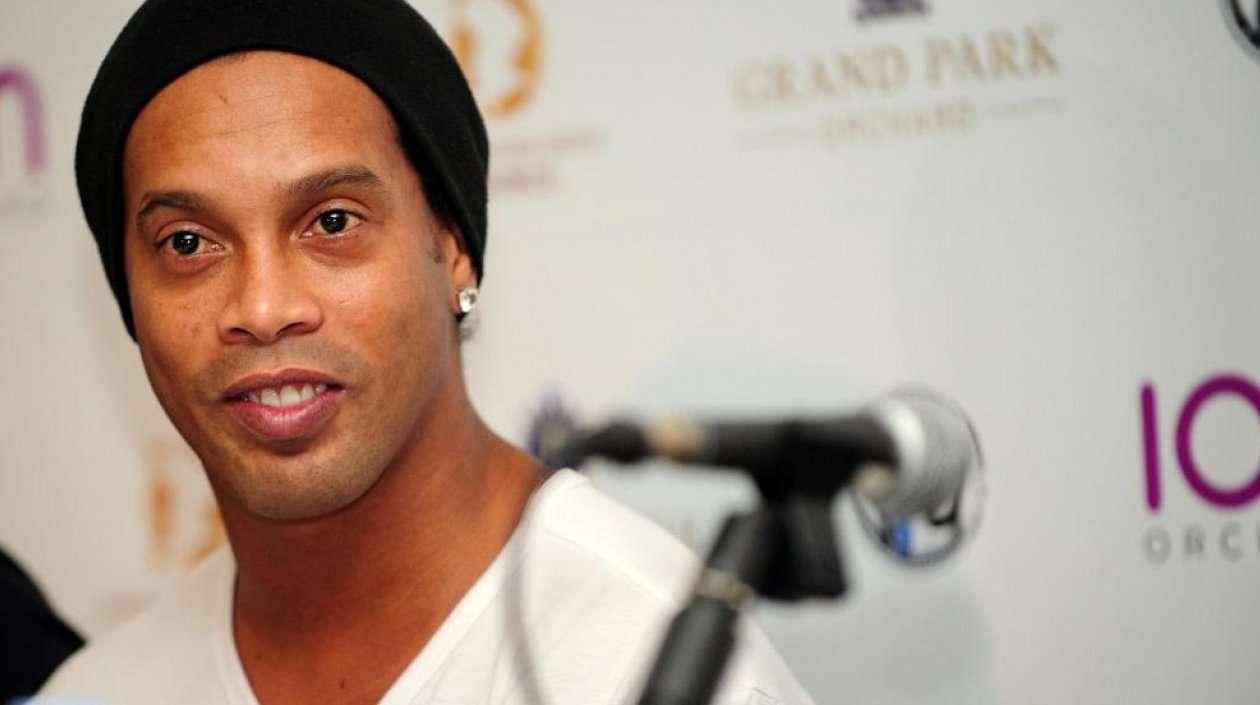 Ronaldinho es condenado a pagar multa y está en bancarrota, según medios brasileños. Foto: EFE