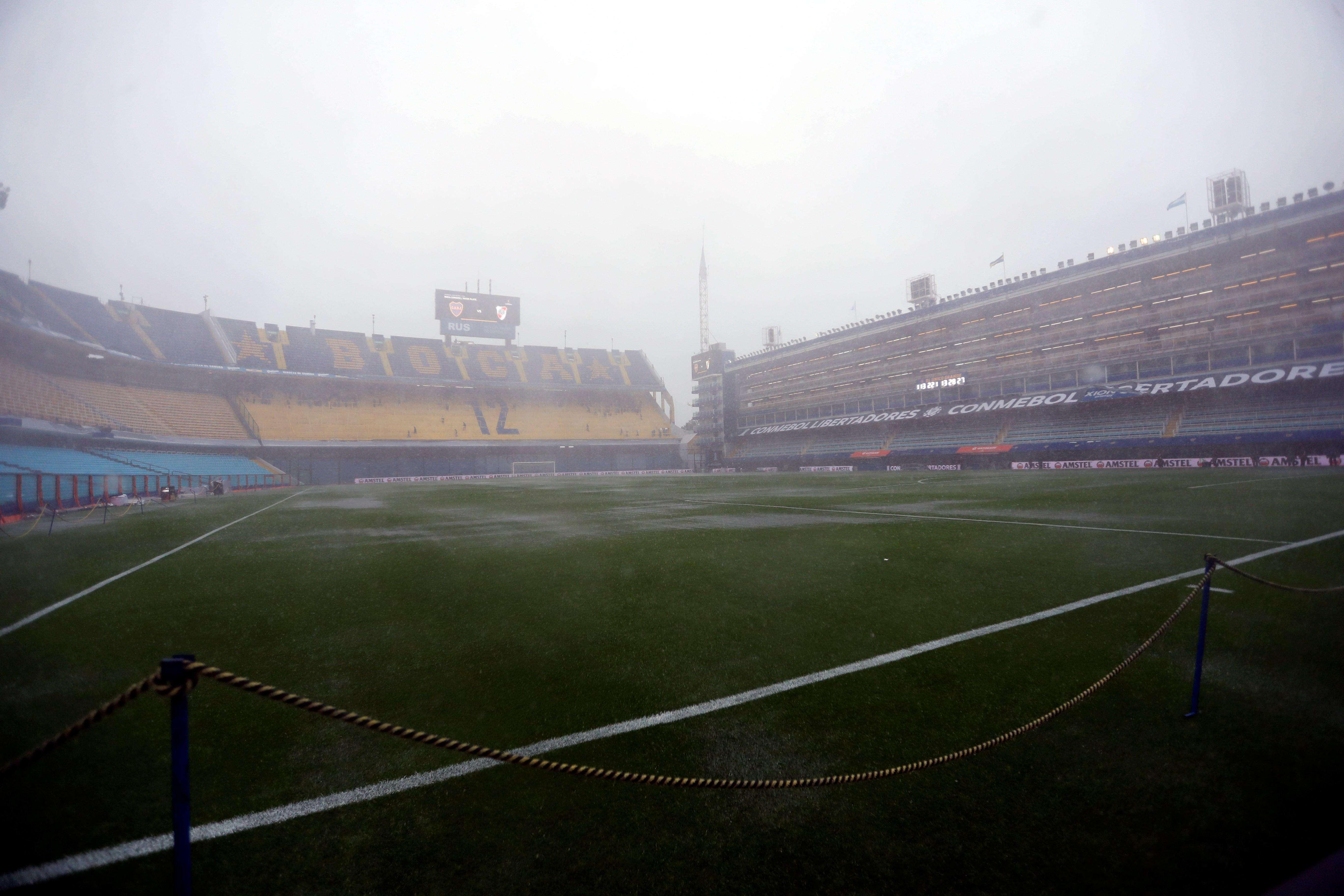 Fuertes lluvias sobre la ciudad de Buenos Aires./EFE