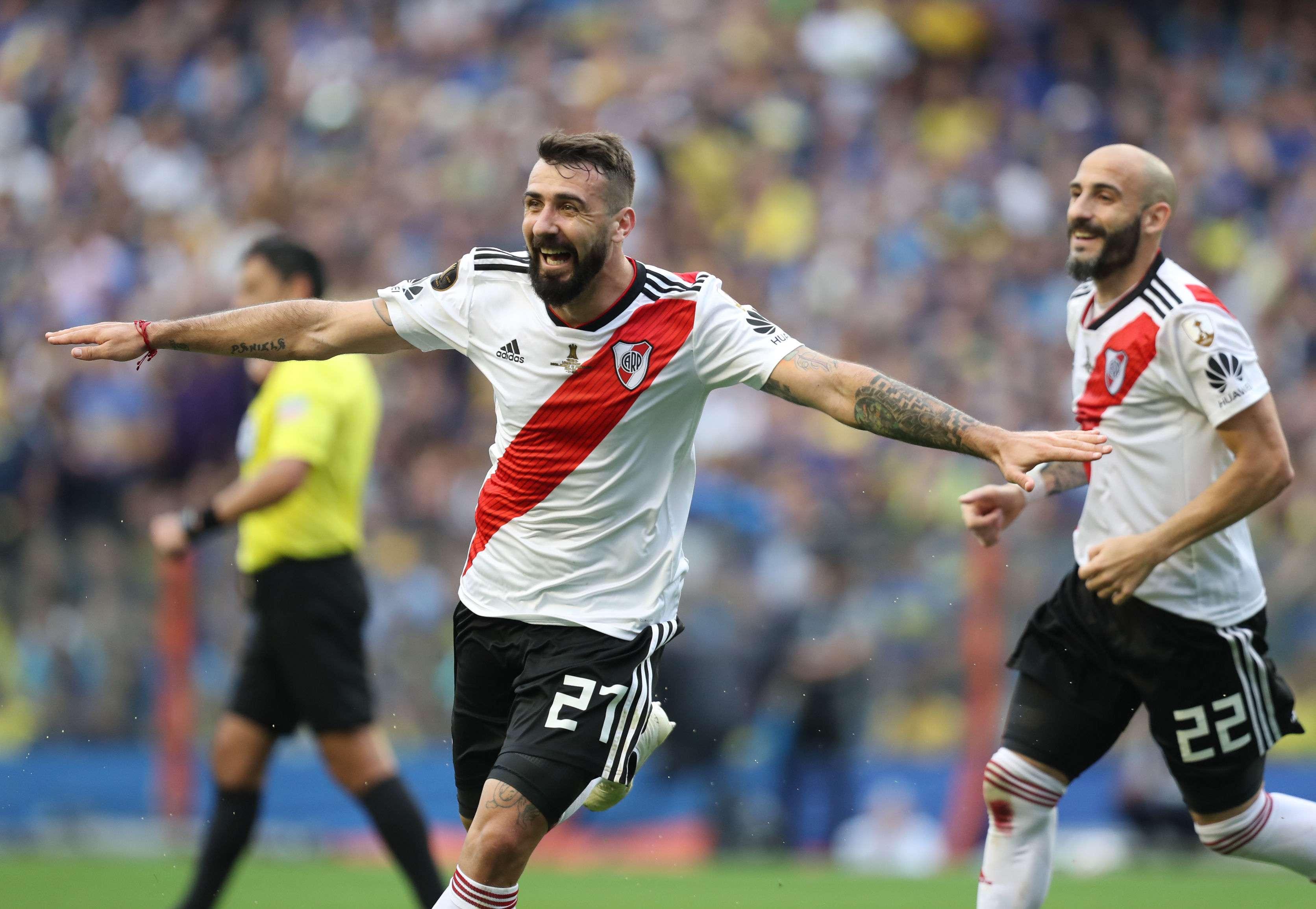 Lucas Pratto fue el hombre clave de River Plate hoy. /Efe