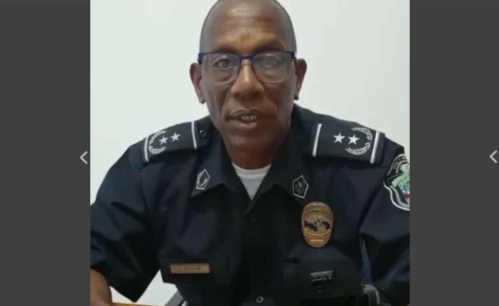 Comisionado Ignacio Taylor, jefe de policía San Francisco.