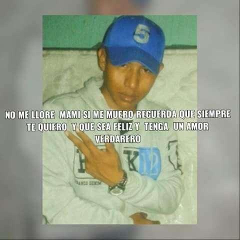Saulo Lorenzo, joven asesinado