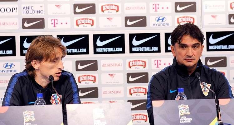 El capitán del Real Madrid Luka Modric. Foto: EFE