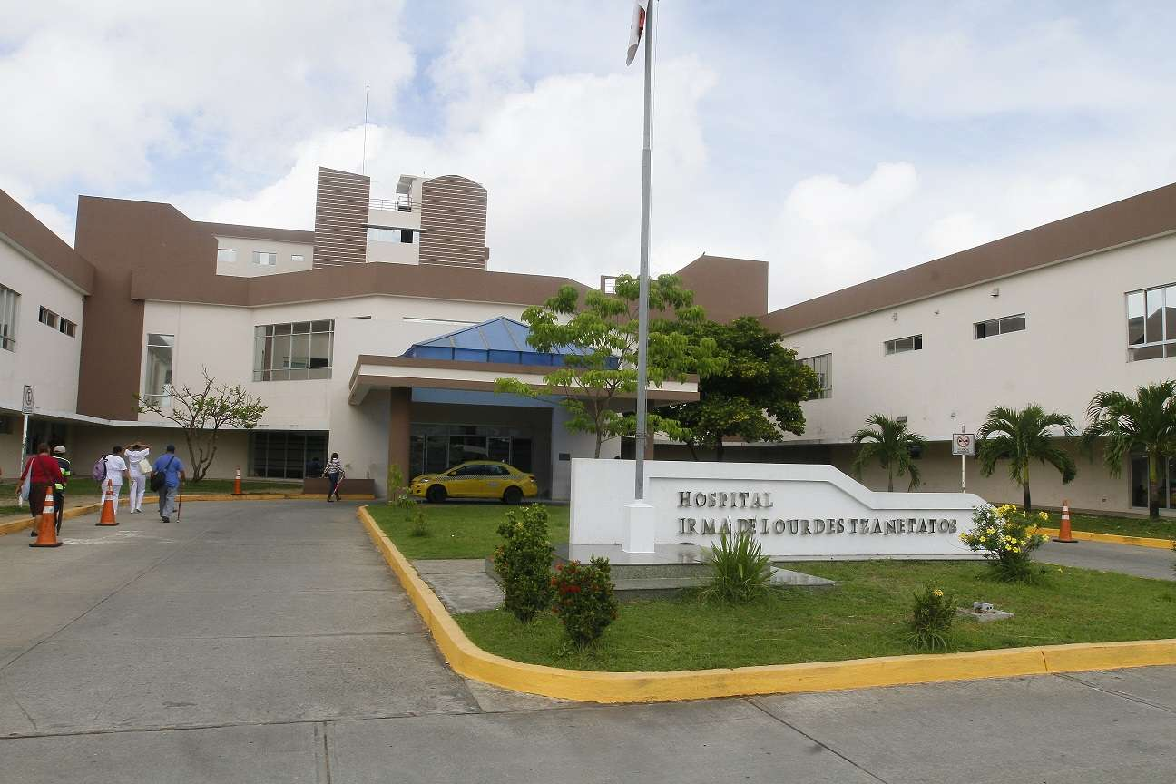 Hospital Irma Lourdes Tzanetatos. Foto: Archivo