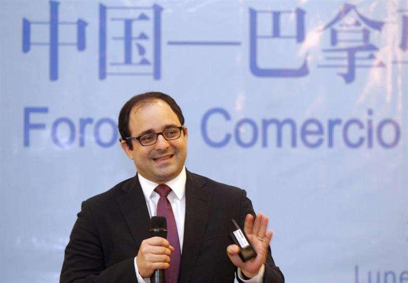 En la imagen, el jefe negociador de Panamá para el TLC con China, Alberto Alemán Arias. EFEArchivo