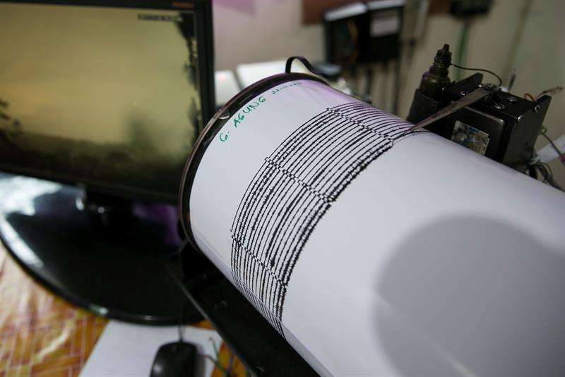 Un sismógrafo. EFE/Archivo
