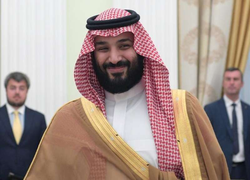 El príncipe heredero de Arabia Saudí, Mohamad Salman, en una visita a Moscú. EFE Alexei Druzhininsputnikkremlin