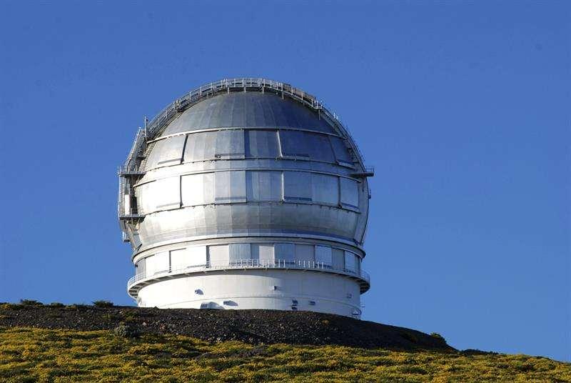El Instituto español de Astrofísica de Canarias, informó que se pudo confirmar el descubrimiento de esta galaxia aislada, que está en las proximidades del Grupo Local, por medio del Gran Telescopio Canarias. EFE/Archivo