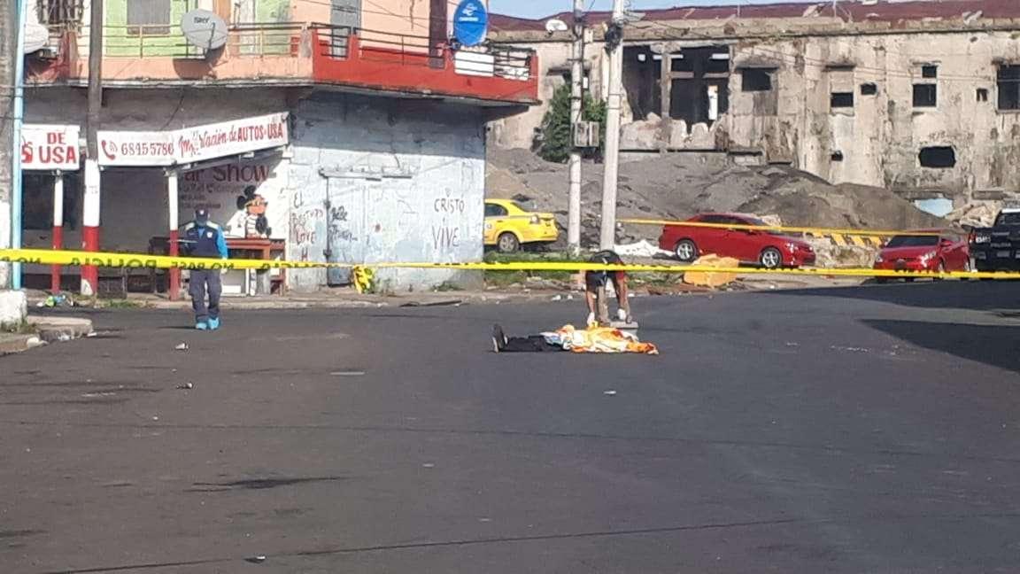 Primer muerto del 2019 en Colón. Foto: Diomedes Sánchez