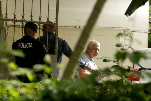 En la imagen el expresidente Ricardo Martinelli en El Renacer. Foto: Archivo