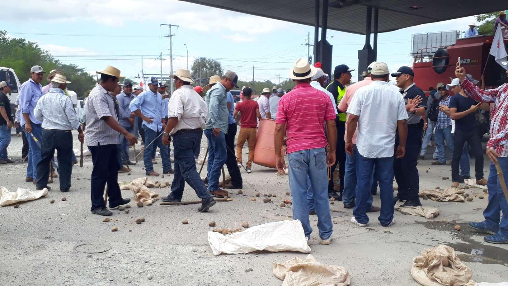 Según los dirigentes del sector agropecuario, el gobierno del presidente Juan Carlos Varela no ha cumplido con los acuerdos pactados. Foto: Thays Domínguez