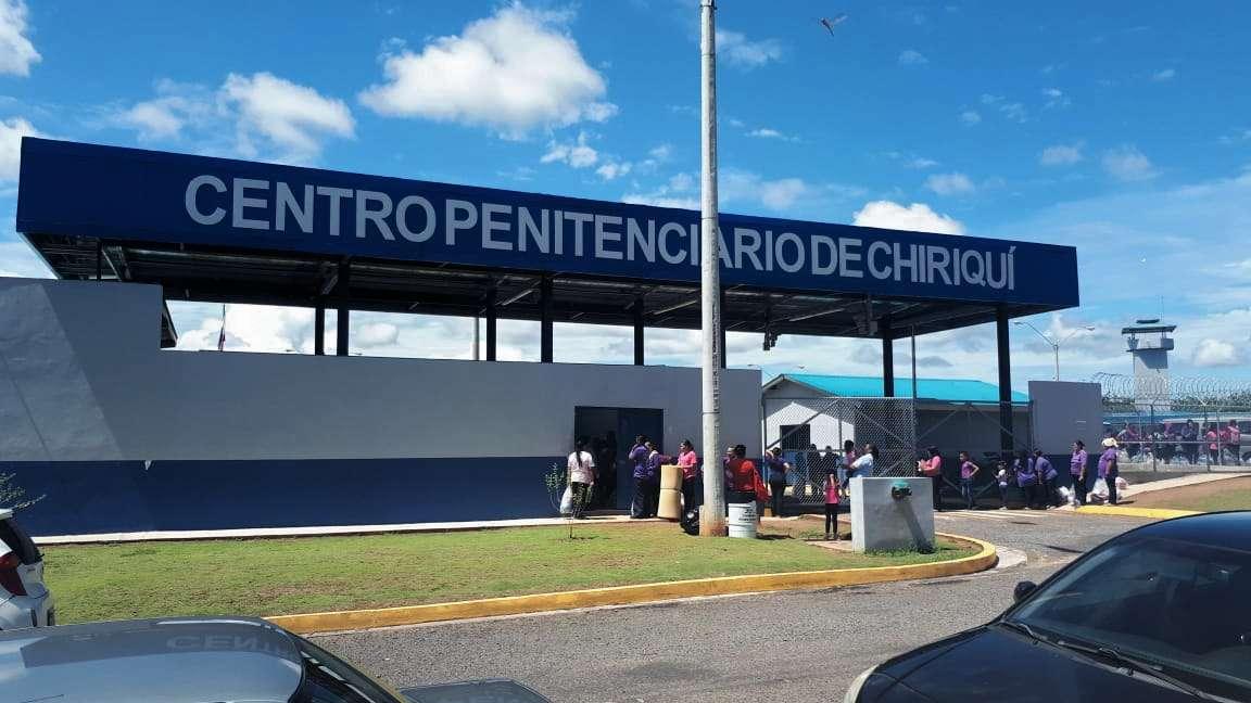 Vista externa de la cárcel de David, Chiriquí. Foto: José Vásquez