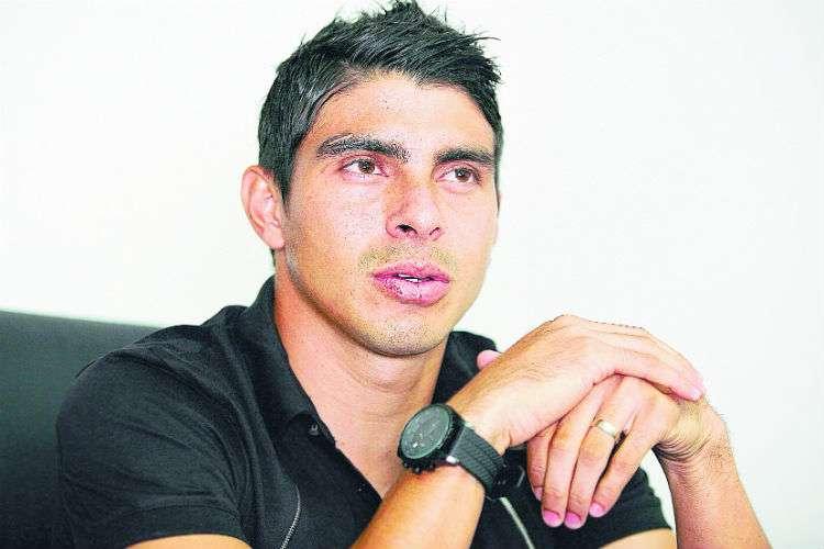 Juan Ramón Solís, presidente de la Asociación de Futbolistas Profesionales de Panamá. Foto: Anayansi Gamez