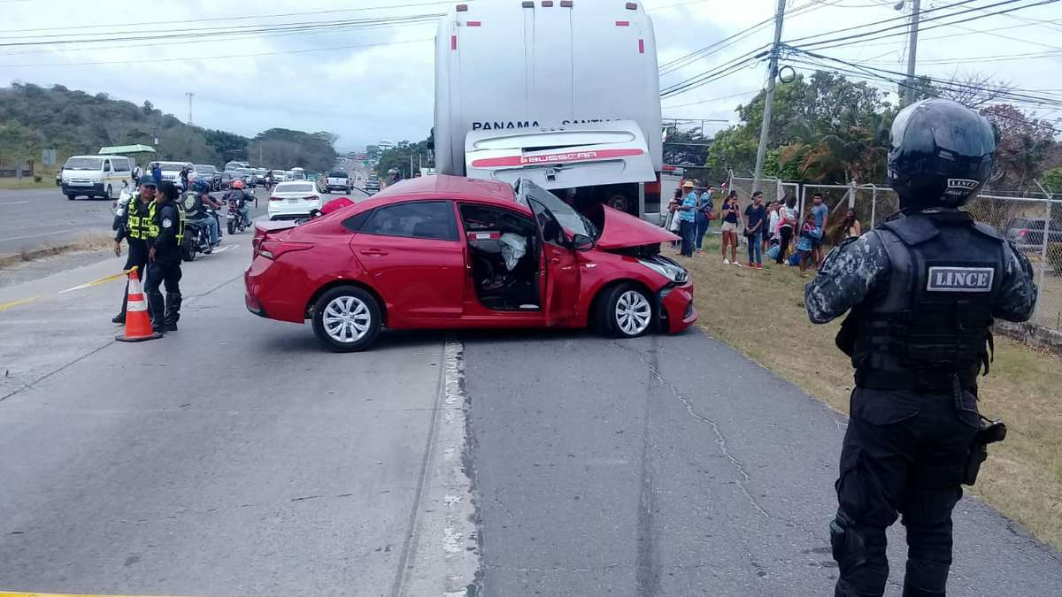Vista general del lugar del accidente. Foto: @BCBRP