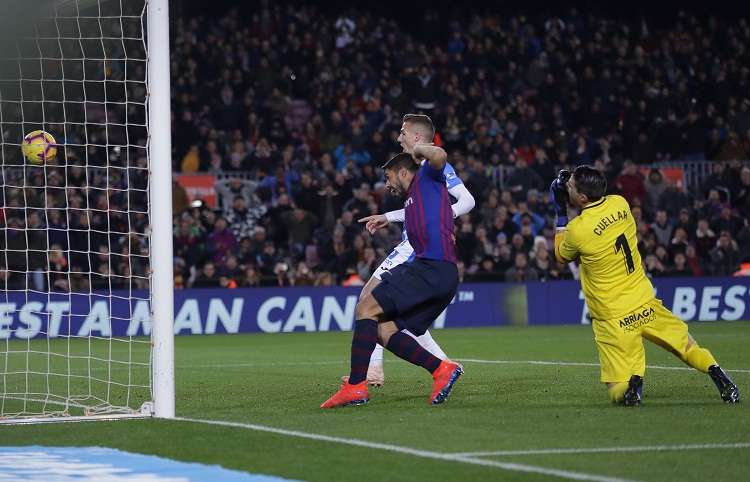 Luis Suárez ha anotado 167 goles con la Barcelona. Foto: AP