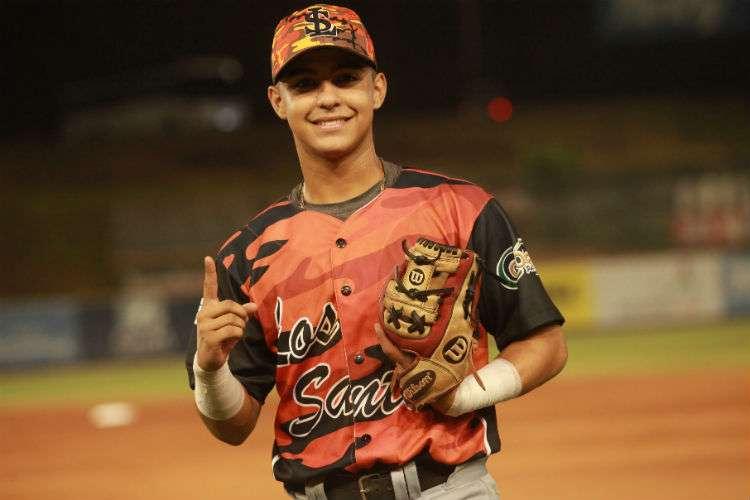 Adrián Montero está listo para hacer historia en los campeonatos nacionales de béisbol juvenil. Foto: Anayansi Gamez