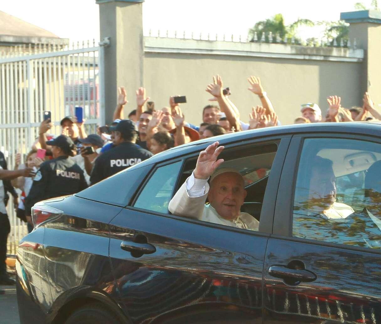 En los cinco días que estuvo en el país, el papa Francisco ofreció una decena de discursos ante centenares de miles de personas. Foto: Anayansi Gámez
