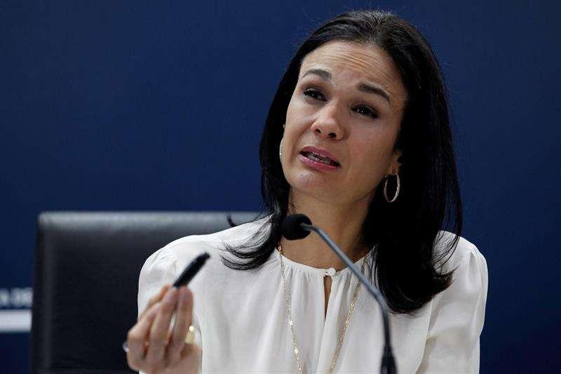 Isabel De Saint Malo, vicepresidenta y canciller de Panamá. EFEArchivo