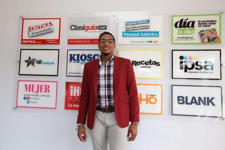 Johan Camargo en las oficinas de EPASA./ Foto Anayansi Gamez