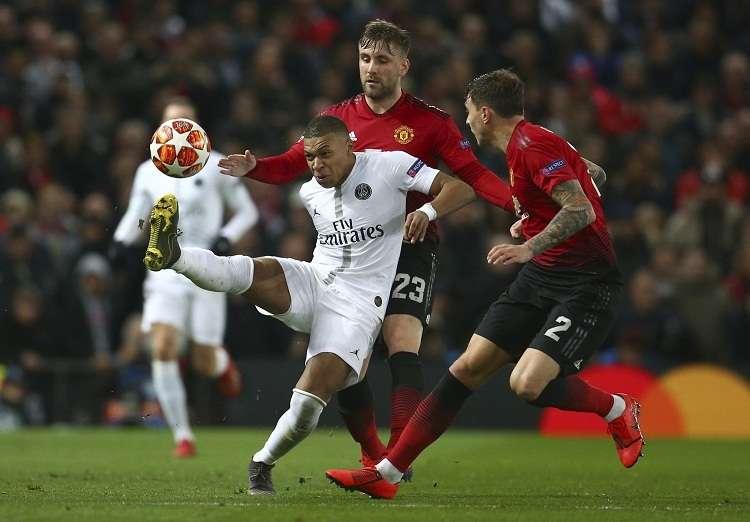 Kylian Mbappé anotó uno de los goles del partido. Foto: AP